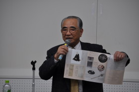全国良寛会会長 長谷川義明氏