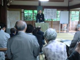 常福寺の牧住職講師